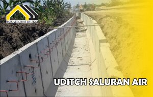harga u ditch saluran air